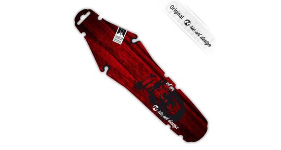 """rie:sel design rit:ze back fender saddle 26"""" - 29"""" red wood gorilla"""